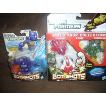 Transformers Bot-shots Ratchet,megatron Y Beast Hunters