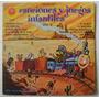 Canciones Y Juegos Infantiles Vol. 2 1 Disco Lp Vinilo