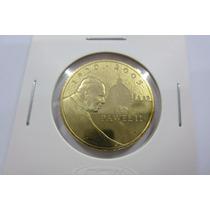 Moneda De Polonia, Alusiva A La Muerte De Juan Pablo Segundo