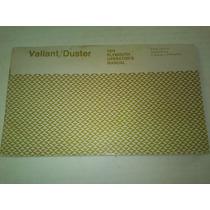 Manual De Propietario De Plymouth Valiant Duster 1974 Raro