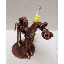 Camello Portaplumas / Modelo 2 / De Metal / Fierro