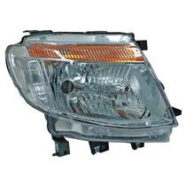 Faro Ford Ranger 2013-2014 Fondo Cromado S/motor