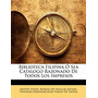 Biblioteca Filipina Sea Catlogo, States Bureau Of Insular