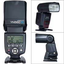 Flash Yongnuo Yn 560-lv Speedligh Receptor Integrado Maestro