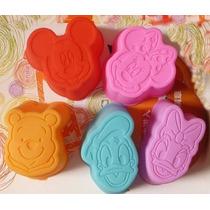 Moldes De Silicón 3 D De Caritas De Personajes De Disney-