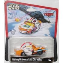 Cars Starwars Lightning Mcqueen Es Luke Skywalker Disney