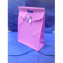Bolsa Plastificada Para Regalo 5 Colores 0536880