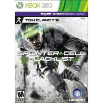 Splinter Cell Blacklist Black List 360 Usado Blakhelmet C