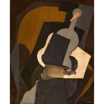 Lienzo Tela Mujer Sentada Diego Rivera Año 1915 62 X 50 Cm