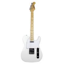Guitarra Tipo T-lecaster Rmc Color Blanco