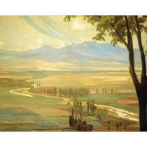 Lienzo Tela El Valle Diego Rivera 1908 Decoración