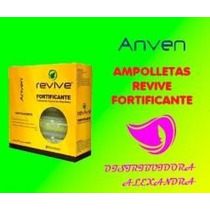 Ampolleta Fortificante Anven Revive 20ml C/10pz