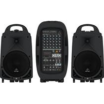 Sistema De Audio Portátil 2000 Watts Behringer Ppa2000bt
