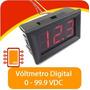 Voltímetro Digital 0 - 99.9vdc Compatible Pic Arduino Avr