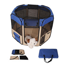 Jaula Suave Interior Exterior Descanso Juego Perro Gato Casa