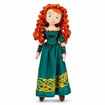 Merida Brave Valiente Disney Store Juguete Peluche