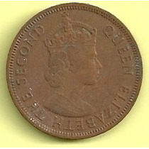 Territorios Britanicos Del Este Del Caribe 1 Cent (1965)