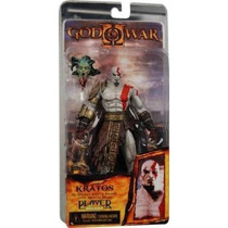 Kratos God Of War Dios Guerra Con Cabeza Medusa