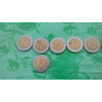 Monedas Centenario Y Bicentenario De México De 5 Pesos 2008