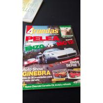 4 Ruedas Pelea De Hermanos Ferrari Enzo Vs Maserati Mc12