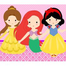 Kit Imprimible Princesas Bebe Candy Bar Invitaciones Cajitas