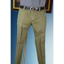 Pantalon Italiano Gucci Talla 30 Color Olivo Oportunidad