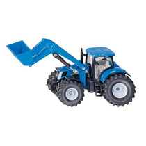 Toy Tractor Agricola - Siku New Holland W Front Loader 1:50