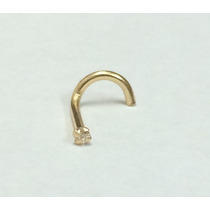 Arete Nariz Oro 14k Por Sacred Symbols Jewelry.