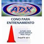 Paquete De 5 Conos Entrenamiento 23 Cms Adx