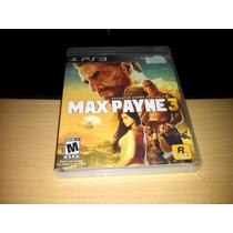 Max Payne 3 Para Ps3 Como Nuevo