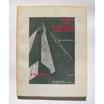 Ing. Raul Alamo Muros De Bloques De Concreto Libro 1974