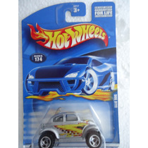Hot Wheels Baja Bug Vw Vocho Tarjeta Usa