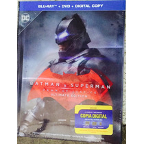Batman Vs Superman El Origen Justicia Book Bluray +dvd+dc