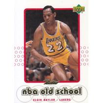 1999-00 Upper Deck Retro Old School Elgin Baylor Lakers