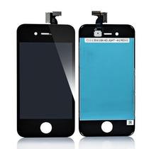 Pantalla Lcd + Touch Para Iphone 4 / 4s En Blanco Y Negro