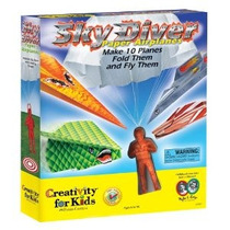 Creatividad Para Sky Diver Kids Paper Airplanes