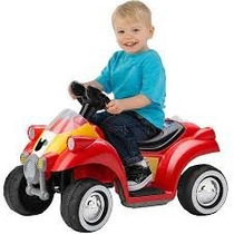 Kid Trax Disney Mickey Mouse Coche De Carreras Quad 6 Voltio