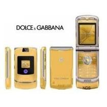 Motorola V3 Dolce Gabbana V3i Ed Especial Dorado Original Rz
