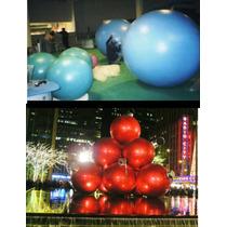 Esferas Navideñas De Fibra De Vidrio Gigantes