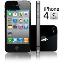Apple Iphone 4s Negro 16gb Libre Para Cualquier Compañía Msi