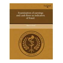 Examination Of Earnings And Cash Flows As, Henry Elrod