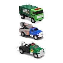 Tonka 3-pack Vehículos - Remolque Recogedor De La Cereza Y D