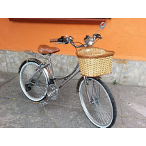 Bicicleta Retro Cromada Dama Y Caballero Varios Colores