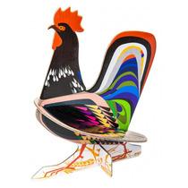 Gallo Armable 3d Decorativo Diseño Design Nuevo Estilo