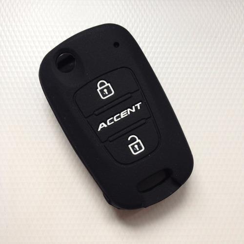 Funda De Silicon Llave Hyundai Accent Elantra Sonata Attitud Foto 3
