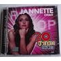 Jannette Chao 20 Grandes Exitos Pop Cd Doble Raro Como Nuevo