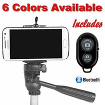 Teléfono Celular Adaptador Para Trípode - Bluetooth Remote C