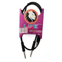 Cable De Audio Pbk Life Plug 3.5 St A 2 Plug 1/4 Mon 2ppin-1