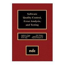 Software Quality Control, Error, Analysis, Judith A Clapp