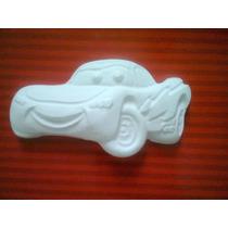 40 Figuras De Yeso Cars, Frozen, Minnions